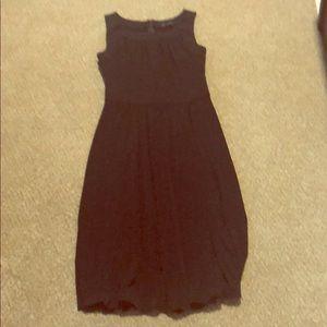 Max & Cleo Tank Style w/Rouchin Matte Jersey Dress
